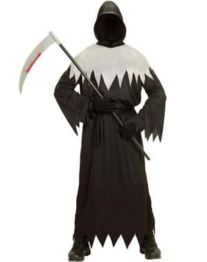 פלוס גודל Grim Reaper תלבושות