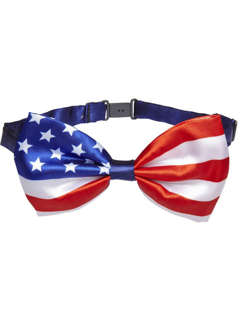 アメリカの国旗蝶ネクタイ