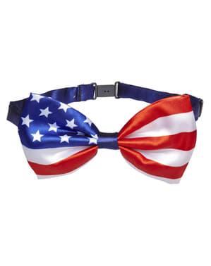 Motýlek vlajka USA unisex