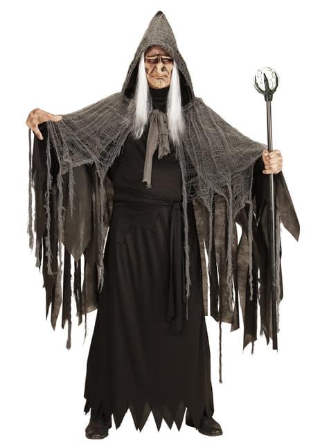 Cetro de mago negro de 122 cm - para tu disfraz