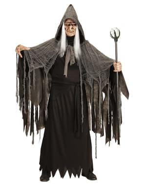 Cetro de mago negro de 122 cm