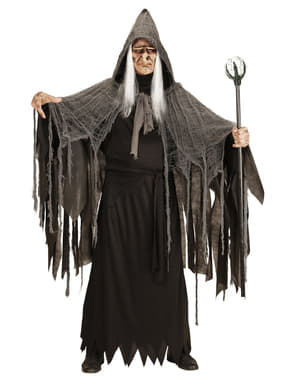 Sceptre magicien noir 122 cm