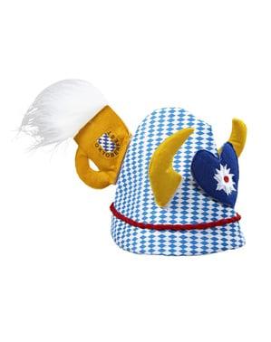 Oktoberfest Hut mit Verzierung