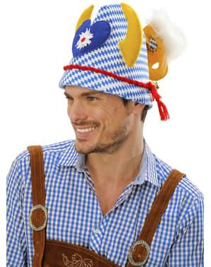 Sombrero Oktoberfest con adornos