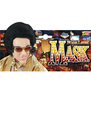 Máscara rei do Rock para homem