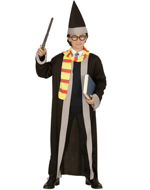 Fato de mago Harry para menino