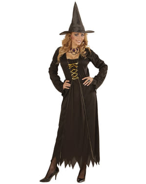 Womens Magical Witch Costume