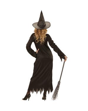 Fato de bruxa mágica para mulher