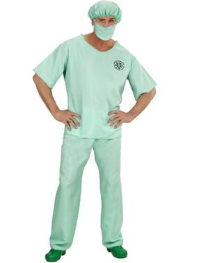 Disfraz de médico de urgencias