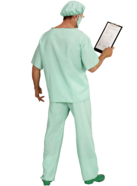 Disfraz de médico de urgencias - adulto
