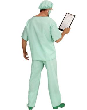 Fato de médico das urgências para homem