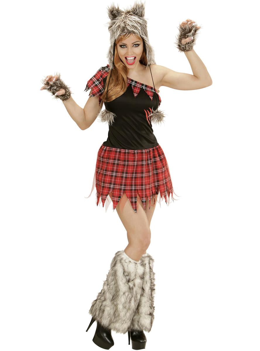 Disfraz de lobo feroz para mujer comprar online en funidelia for Disfraz de lobo feroz