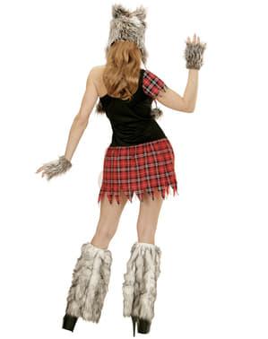 Жіночий жорстокий костюм вовка