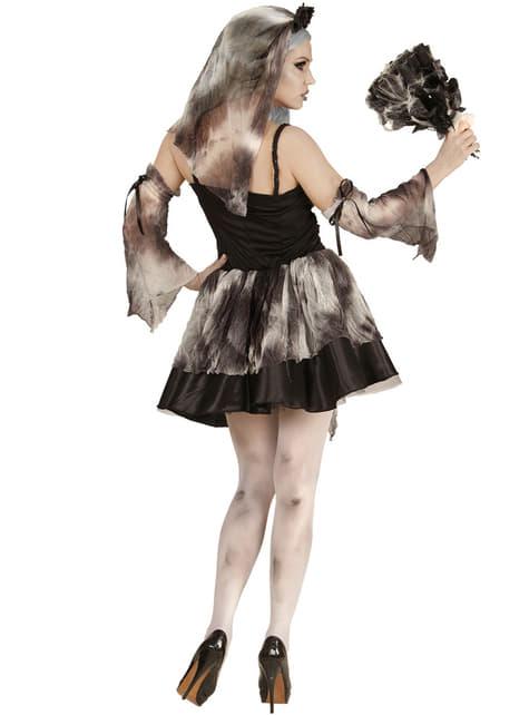 Disfraz de novia de la muerte zombie para mujer - mujer
