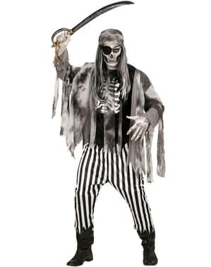Costum piratul celor 7 mări zombie pentru bărbat