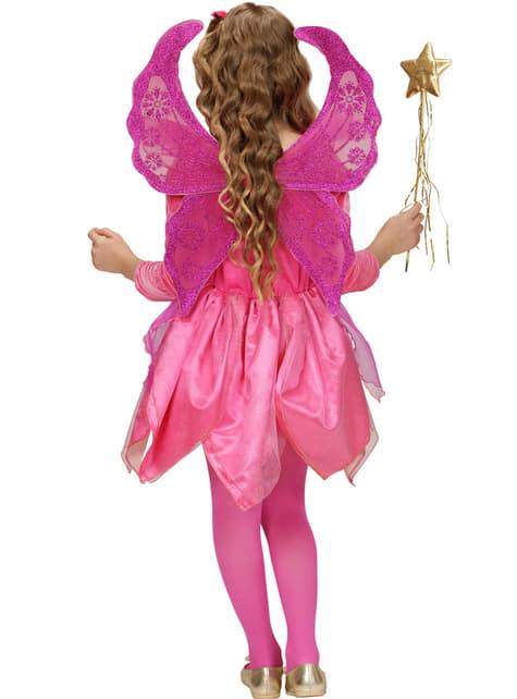 Disfraz de hada rosa para niña - niña