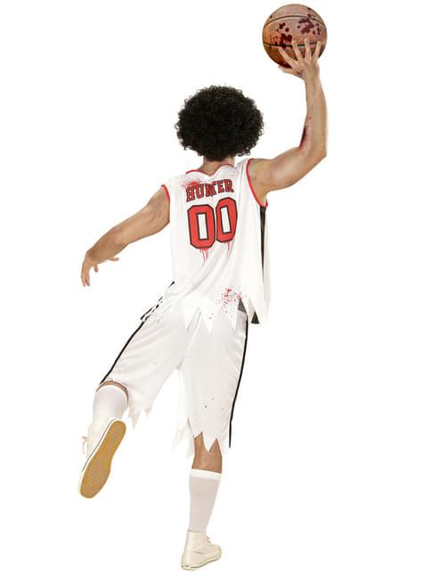 Disfraz de jugador de baloncesto zombie para hombre - hombre