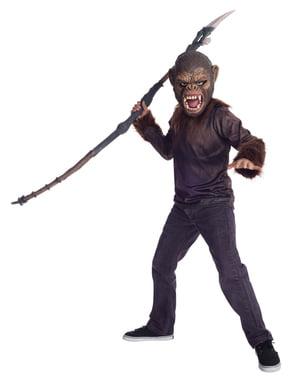 Kit fato de César Planeta dos Macacos para adolescente