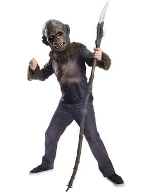 Kit fato de Koba Planeta dos Macacos para adolescente