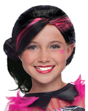 Draculaura Monster High classic wig for a girl