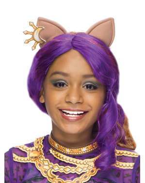 Clawdeen Wolf Monster High classic wig for a girl