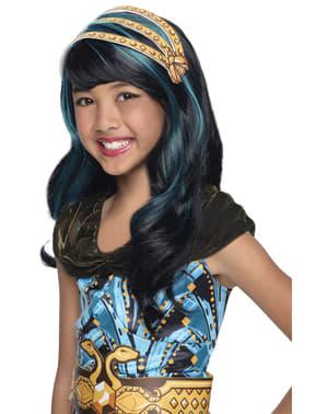 Pruik Cleo de Nile Monster High classic voor meisjes