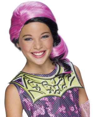 Draculaura Monster High wig for a girl