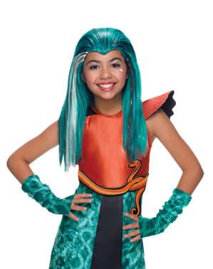 Perruque Nefera de Nile Monster High fille