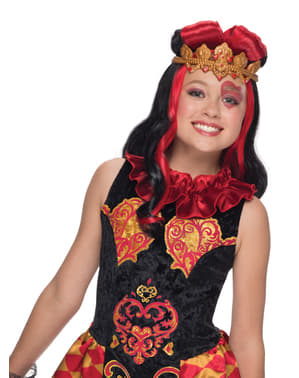 Pruik Lizzy Hearts Ever After High classic voor meisjes