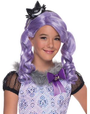 Pruik Kitty Cheshire Ever After High classic voor meisjes