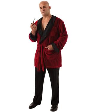 Playboy Hugh Hefner plus size kostume til mænd