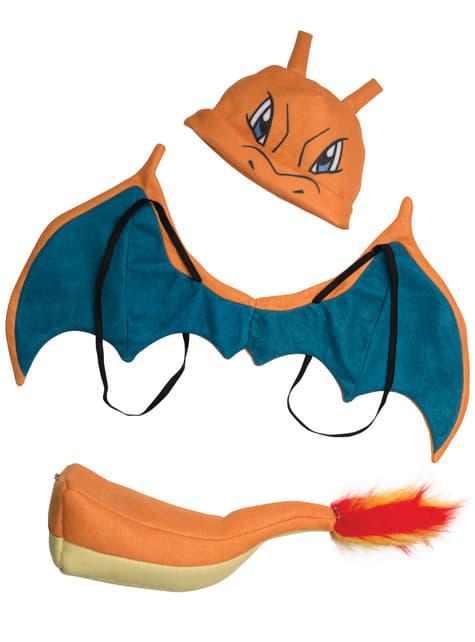 Zestaw kostium Charizard Pokemon dla chłopca