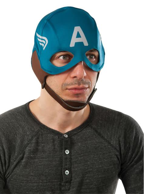 Máscara retro Capitán América: el Soldado de Invierno para hombre
