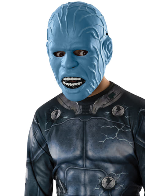 The Amazing Spiderman 2 Electro three quarter mask for a child