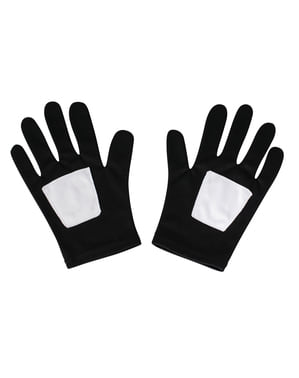 Кінцеві чорні рукавички-павуки для дитини