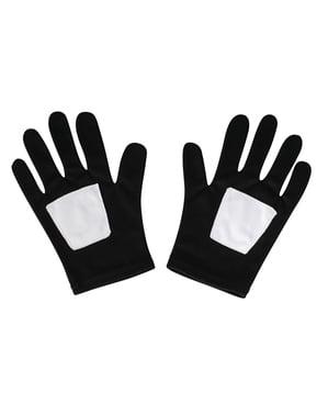 Klasyczne czarne rękawiczki Spiderman dla chłopców