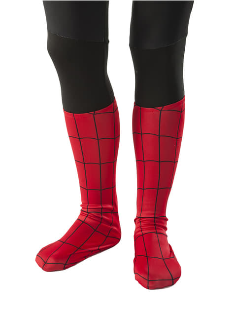 Ultimate Spiderman classic boot covers for Kids