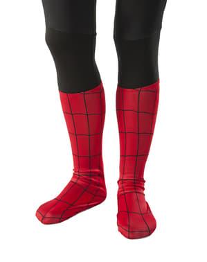 Tapa botas de Ultimate Spiderman clássico para menino