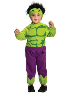 Fato do Incrível Hulk Marvel para menino