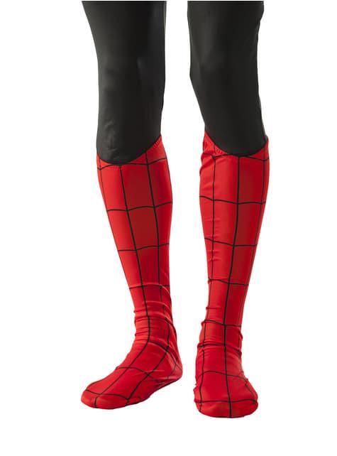 マーベルスパイダーマンブーツカバー大人用