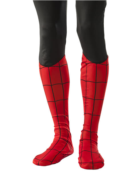 Marvel Spiderman boot covers for an adult