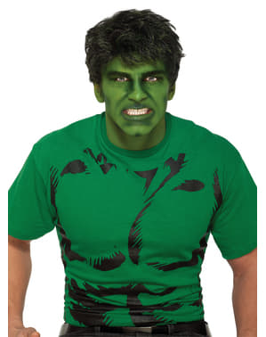Peruca do Incrível Hulk Marvel para adulto