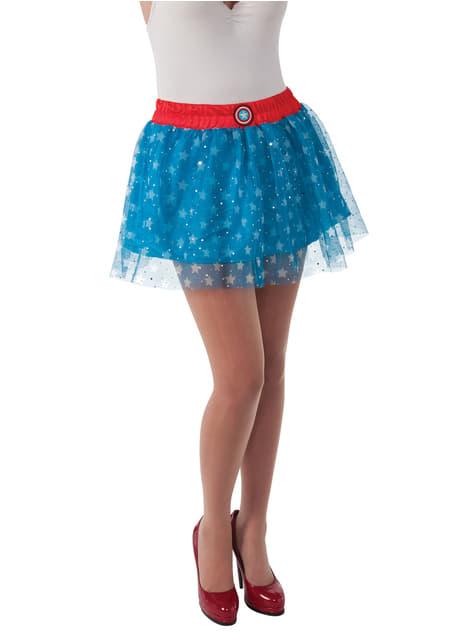Falda Capitán América Marvel classic para mujer