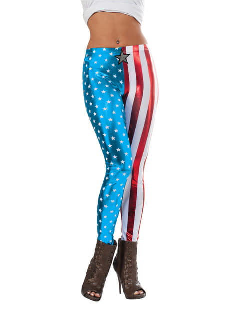 Leggings Capitán América Marvel para mujer