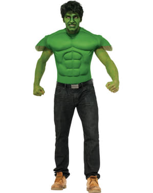 Marvel Hulk muscular tshirt for an adult