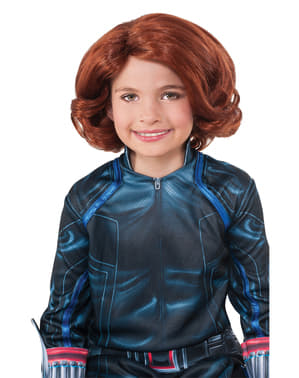 Avengers Age of Ultron Black Widow wig for a girl