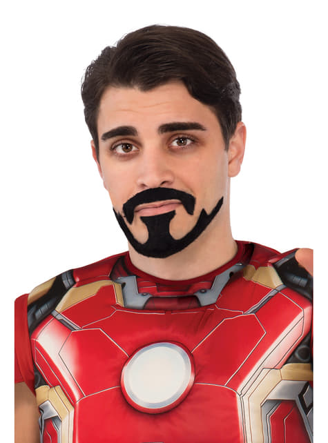 Baard en snor Tony Stark Avengers: Age of Ultron