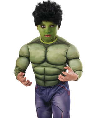 Peluca Hulk Vengadores: La Era de Ultrón para niño