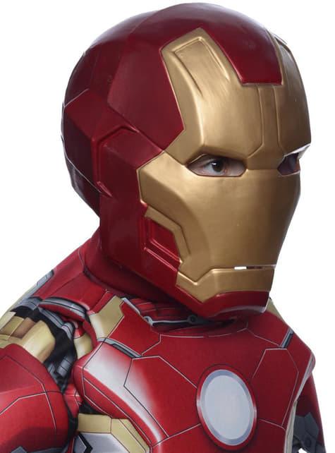 Maska Iron Man dwuczęściowa The Avengers: Czas Ultrona deluxe dla chłopca