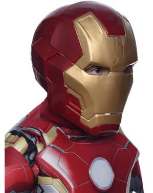 Maschera Iron Man due pezzi Avengers: Age of Ultron deluxe bambino
